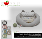 *Fapple- Puppy Love Kitty Bed Animated for Human Kitties and other version for pets