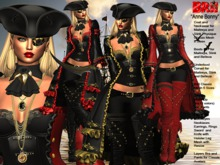 **ANNE BONNY PIRATE STYLE UNIVERSAL HUD 2 TEXTURES**