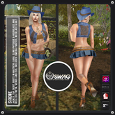[RnR] Swag Sadie Country Girl & Country Western Outfit w/ Maitreya, Freya, Venus, Isis, Physique & Hourglass!