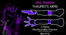 [inZoxi] - ONA Snokra Thaumium Arms