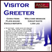 ArtiZan Visitor Greeter (low lag, multi-function, auto email reports)