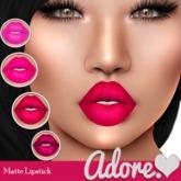 Adore<3 Matte Lipstick-Pink