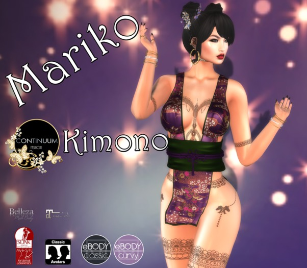 Continuum Mariko Kimono