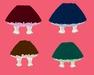Dinkies four skirts set