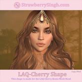 StrawberrySingh.com Laq-Cherry Shape