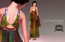 *Shai* La Capricciosa Dress in Green