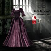 [ae] Henriette Gown Purple