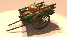 "3-5 LI ""Farm Cart w Pumpkins for Halloween"" (mod, copy)"