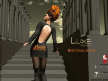 LUXE Paris BOO Dress 2018 With Hair