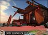 HeadHunter's Island - Cozy Shipwreck Hut/Shelter - tropical castaway fun- ship - 106+ multianimations - MESH