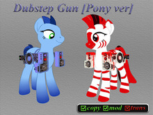 .:CD:. Dubstep Gun [Pony ver]