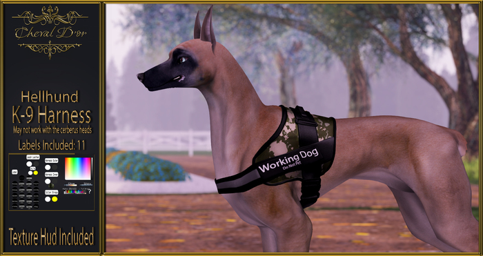 Cheval D'or - Hellhund - K-9 Harness.