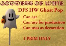 [DFS] HW Ghost Pop * Halloween Geist * Nur 1 PRIM * Limitiert