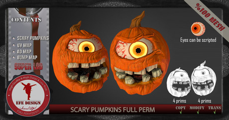 Scary Pumpkins Full Permission EFE DESIGN (Promo)
