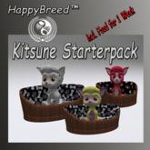 Kitsune Starterpack -  Food 3 Kitsune for 1 Week