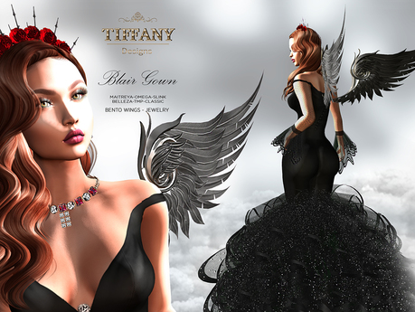 ::TD:: Blair Gown with Appliers