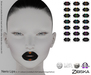 Zibska ~ Nerio Lips in 21 colors with Lelutka, LAQ, Catwa, Omega appliers and system tattoo layers