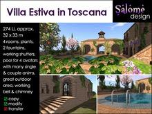 Villa Estiva in Toscana - Tuscany Summer Villa