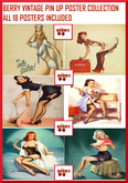 Vintage Pin Up Poster Collection - Rezz & Unpack me