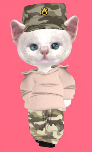 Lexxie Dinkies Desert Camo Outfit