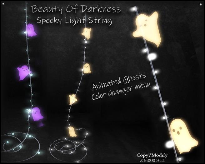 .:BoD:. Spooky String light 50% Off