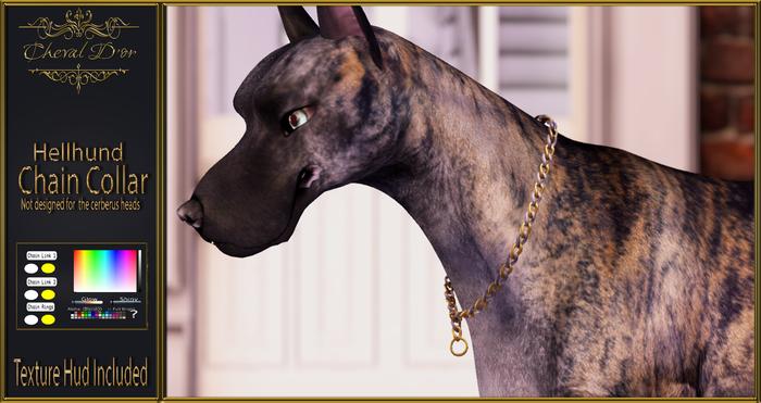 Cheval D'or - Hellhund - Chain Collar.