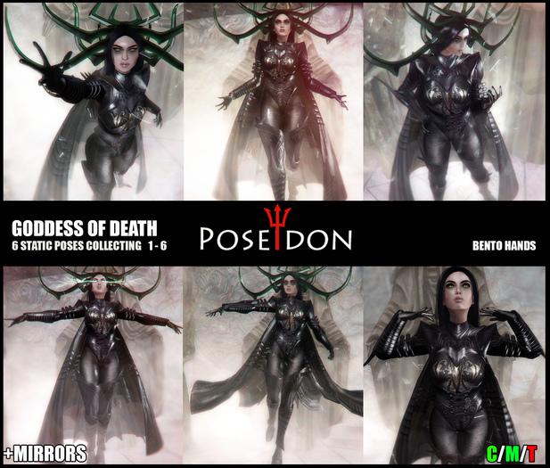 Hela Goddess of Death Complete #1-6 BENTO