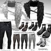 8::GB:: Heavenly warrior pants / Kahki