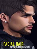 {FE STYLE} FACIAL HAIR [AE 41] CATWA/OMEGA/SIGNATURE