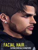{FE STYLE} FACIAL HAIR [AE 42] CATWA/OMEGA/SIGNATURE
