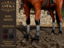 :: ANTAYA :: WHRH Muddy horse bandages \ Original mesh