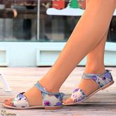 Mutresse - Sofia Flat Sandals - 30 Colors for Slink/Maitreya/Belleza