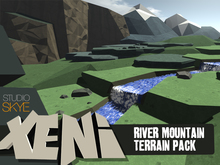 Skye Xeni River Mountain Terrain Pack