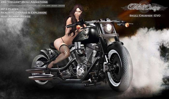 MotoDesign - Skull Crusher - 6 Themes - EVO