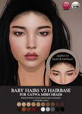 Izzie's - Baby Hairs V2 Hairbase (Catwa)