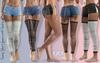 SANIE Female Shorts JEANS FATPACK - MESH - Maitreya Lara, Slink Hourglass, Belleza Freya - FashionNatic
