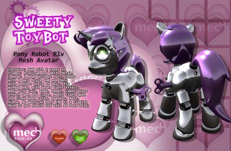 ♥Sweety Toy Pony Avatar Rlv♥
