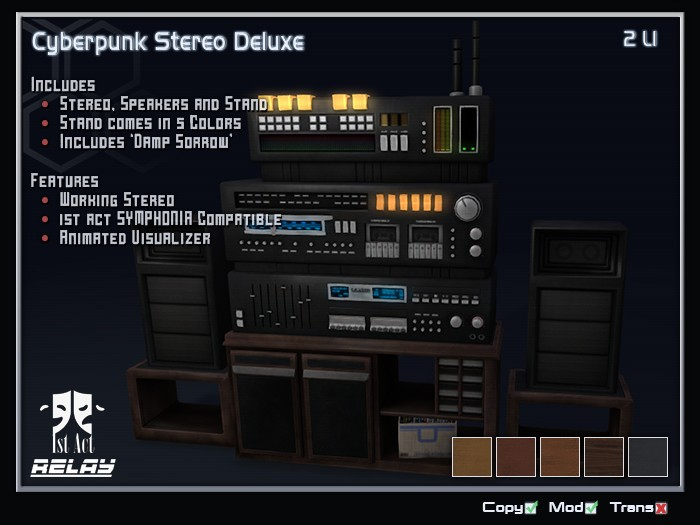 [1A] - Cyberpunk Stereo Deluxe