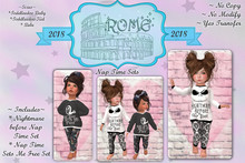 >rOMe< Toddler Naptime Sets (Boxed)