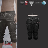 Legal Insanity - Miles shorts black