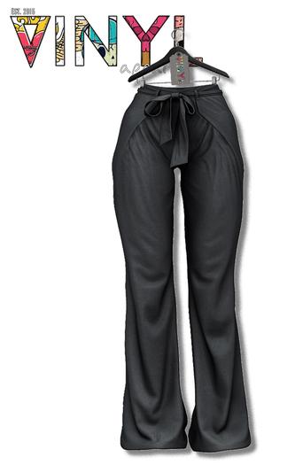 Vinyl - Hart Wide Legs Pak - Grey