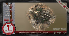 Halloween Remains Gift  Full Permission