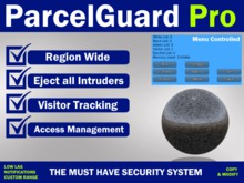 ParcelGuard Pro Security Orb & Visitor Tracking System