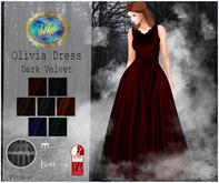 .Viki. Olivia Dress - Dark Velvet (Wear)
