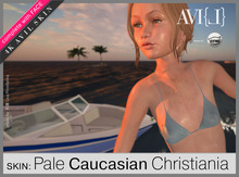 ♥ AVI{L} HUD Master: Skin Christiania Freckled Body & Face
