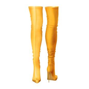 Bjorn: Chloe Knife Boot - Yellow