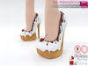 MI962780 Biscuit High Heel Sandals