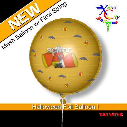 Balloon - Candy Corn Is Evil Halloween