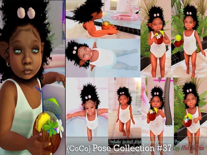::HOZ:: {CoCo} Pose Collection #37 BENTO