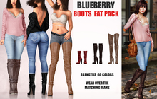 Blueberry - Frank Boots - Fat Pack
